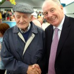 Andrew Walsh 91 years old welcomes Minister Michael Ring TD