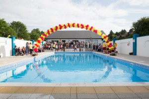 The Launch of the New & Improved Heated Pool in 2017